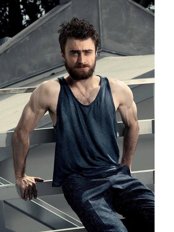 Гаррі Поттер обзавівся бородою та м'язами, щоб знятися в сексуальній фотосесії  - фото 1