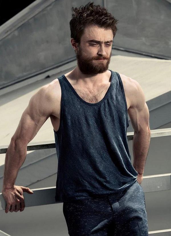 Гаррі Поттер обзавівся бородою та м'язами, щоб знятися в сексуальній фотосесії  - фото 2
