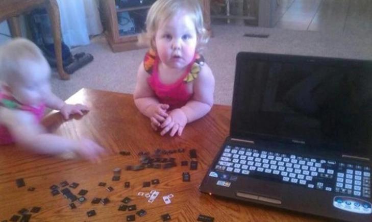 20 фотографій про те, чому з дітьми ніколи не буває нудно - фото 7