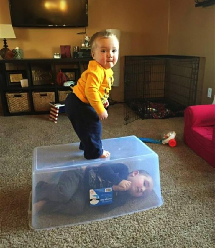 20 фотографій про те, чому з дітьми ніколи не буває нудно - фото 11