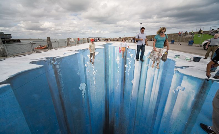 40 неймовірних 3D малюнків на асфальті - фото 19
