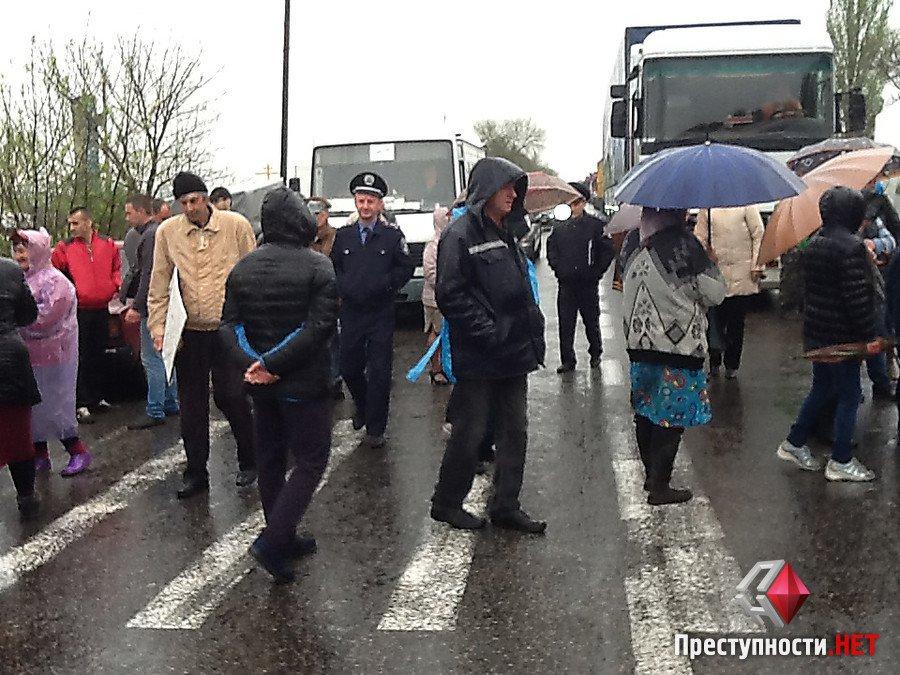 """Ніде пасти корів: селяни перекрили трасу """"Миколаїв-Одеса"""" - фото 4"""