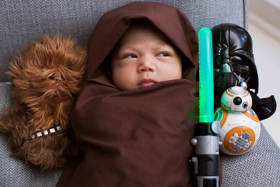 """Марк Цукерберг перетворив новонароджену доньку на героя """"Зоряних воєн"""" - фото 1"""