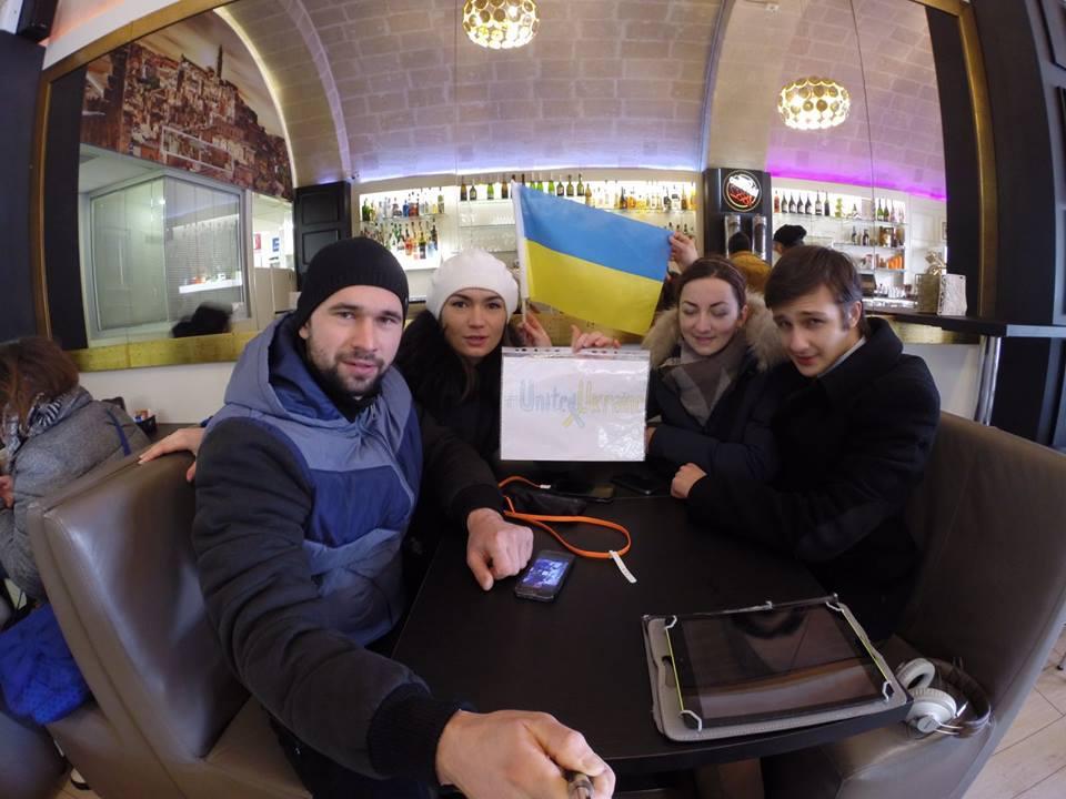 "Флешмоб ""United Ukraine"" охопив вже три континенти - фото 4"