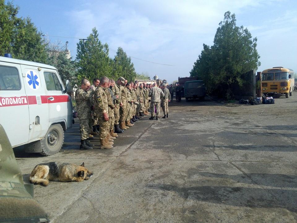 Чим займаються на Донбасі найкращі друзі бійців АТО-3 - фото 3