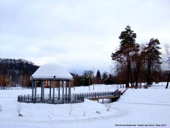 """Неймовірна краса зимового парку """"Феофанія"""" у Києві - фото 2"""