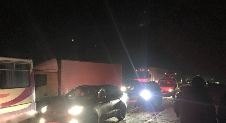 Шахтарі вже другу добу блокують трасу Львів – Рава-Руська - фото 1