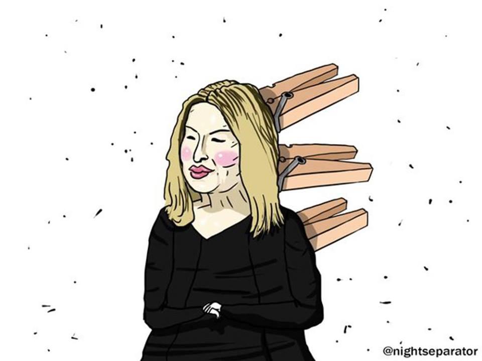 """Анна Герман вразила соцмережі новим """"бурятським"""" обличчям - фото 1"""