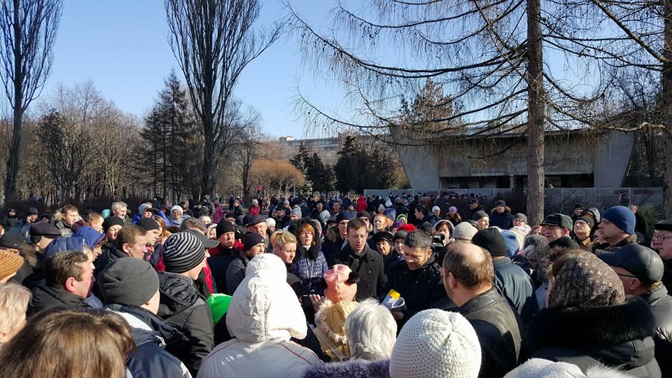 У Києві тисяча мешканців вийшла на захист парку від забудови (ФОТО) - фото 3