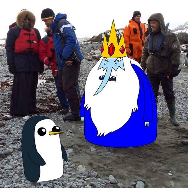 Як Гундяєв пінгвінів в Антарктиді хрестив (ФОТОЖАБИ) - фото 18