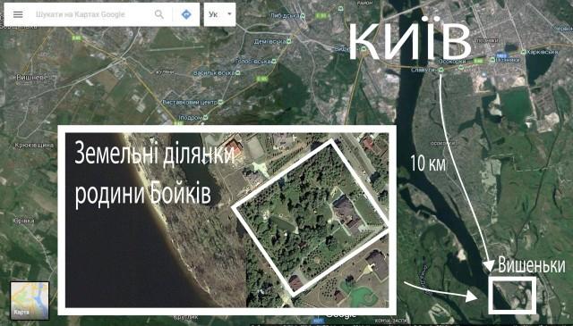 Родина Юрія Бойка має під Києвом маєток на кількох гектарах - фото 1