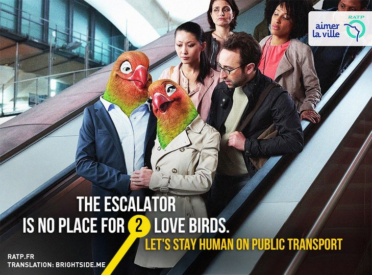 """Як парижан закликатимуть бути """"хомо сапієнс"""" в громадському транспорті - фото 2"""