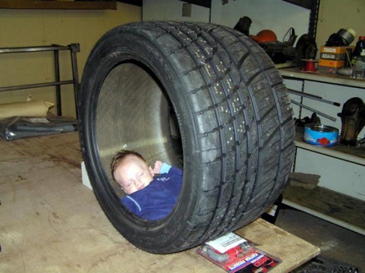 35 кумедних доказів того, що діти можуть заснути де завгодно - фото 11