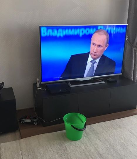 Як українці та росіяни тролять пряму лінію Путіна - фото 1