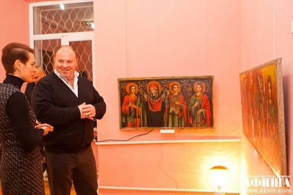 """Вінницьких художник """"переплюнув"""" Ющенка в колекціонуванні ікон - фото 7"""