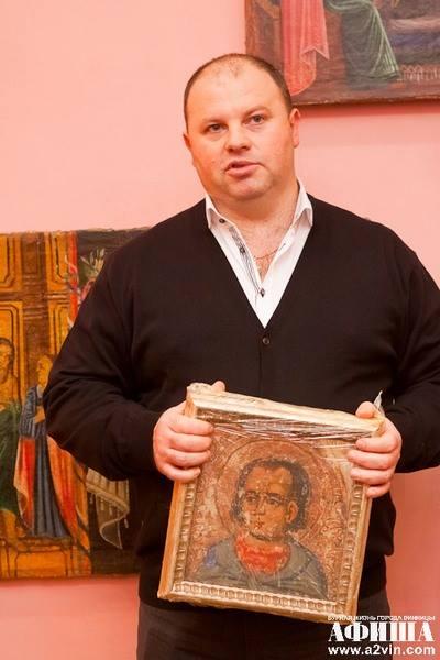 """Вінницьких художник """"переплюнув"""" Ющенка в колекціонуванні ікон - фото 10"""