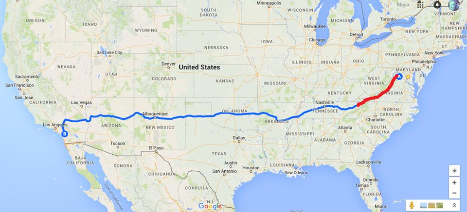 Як американка Майя пішки йде через США заради України - фото 2