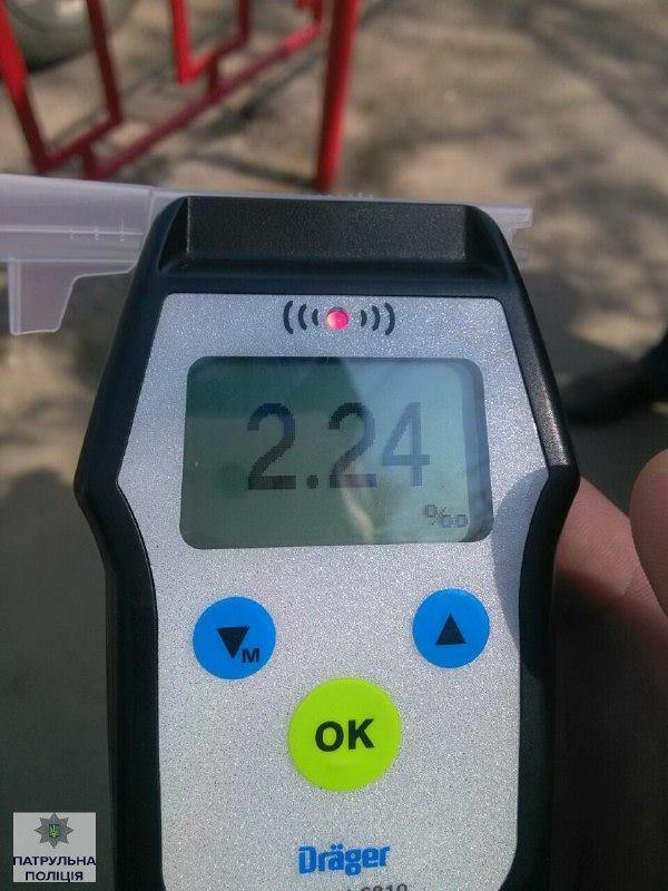У Івано-Франківську поліція затримала п'яного водія за кермом дерев'яної колоди - фото 5