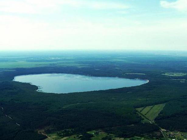 Біле озеро у Рівненській області