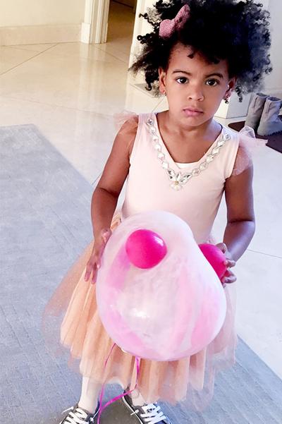 Бейонсе похизувалася донечкою та її розкішним днем народженням  - фото 2