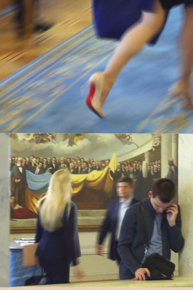 """Нардеп Заліщук """"засвітилась"""" у Раді """"на лабутенах"""" - фото 1"""