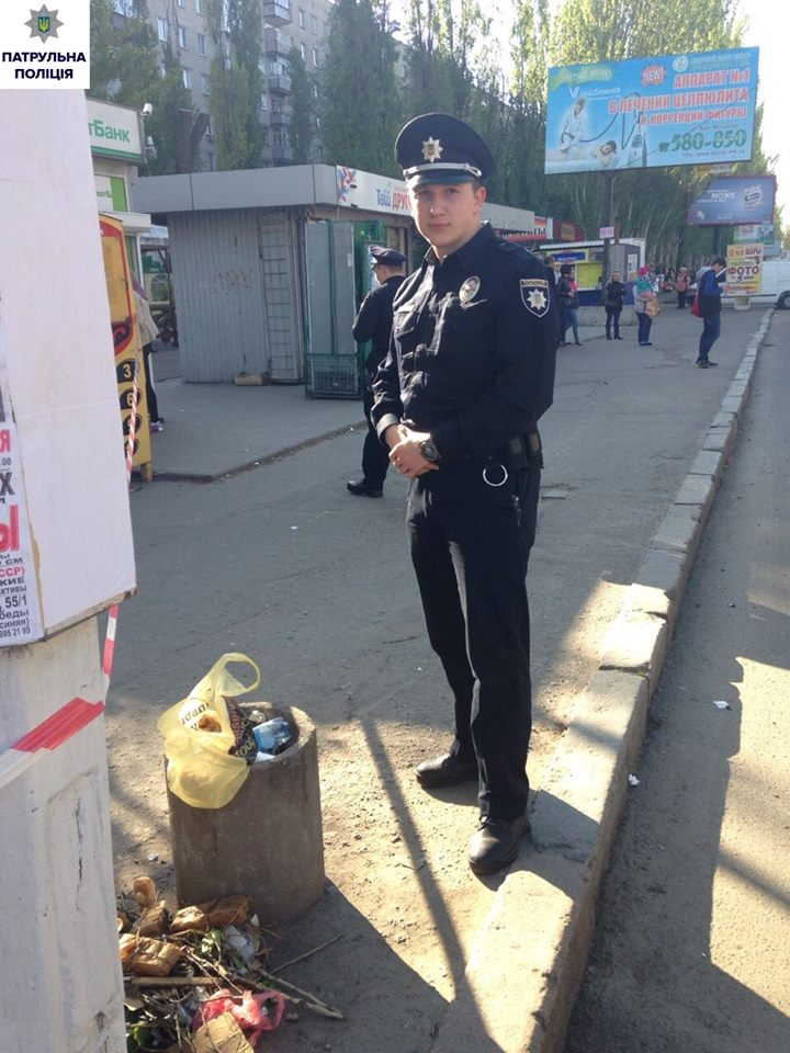Миколаївець підкинув у смітник шумові гранати