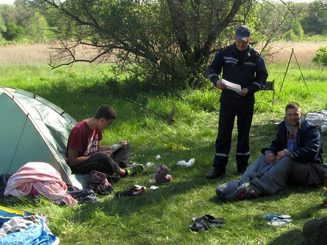 Рятувальники навчають миколаївців, як не підпалити себе на відпочинку - фото 2