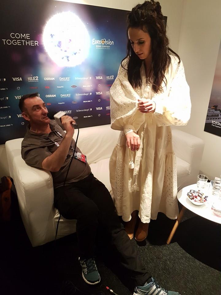 Джамала в сукні-витинанці поділилася свіжими фото зі Стокгольму - фото 1