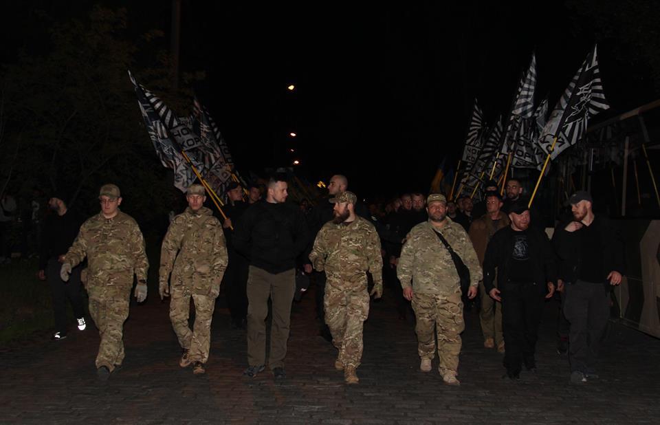 """Як """"Азов"""" святкував день народження у Бердянську - фото 1"""