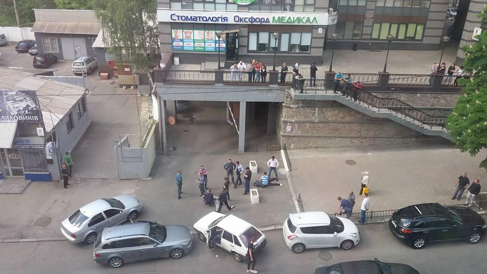 У центрі Києва сталася стрілянина - фото 1
