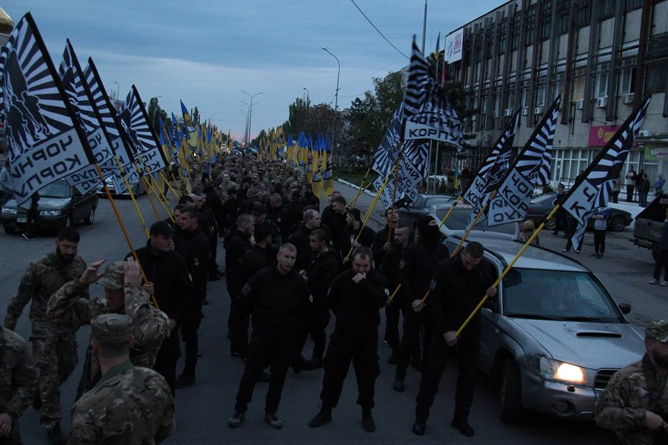 """Як """"Азов"""" святкував день народження у Бердянську - фото 3"""