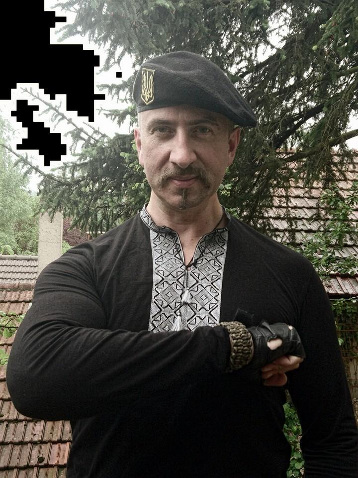 Василь Сліпак на Донбасі