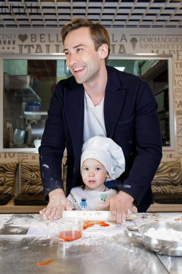 Шепелєв вперше після смерті Фріске знявся із синому у фотосесії - фото 2