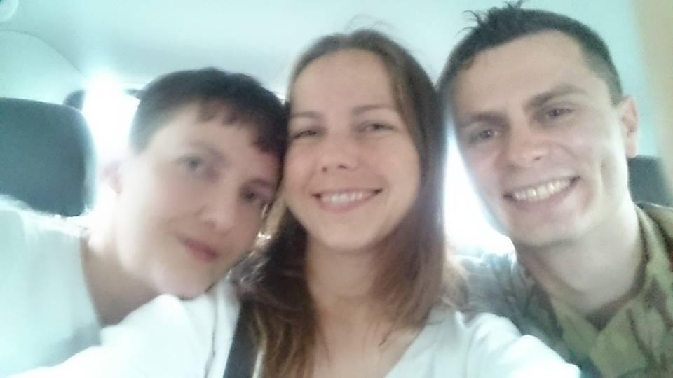 Віра Савченко запостила селфі з сестрою - фото 1