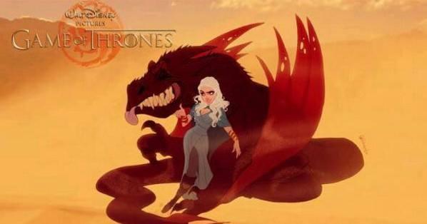 """Як виглядають персонажі з """"Гри престолів"""" у виконанні Діснея - фото 9"""