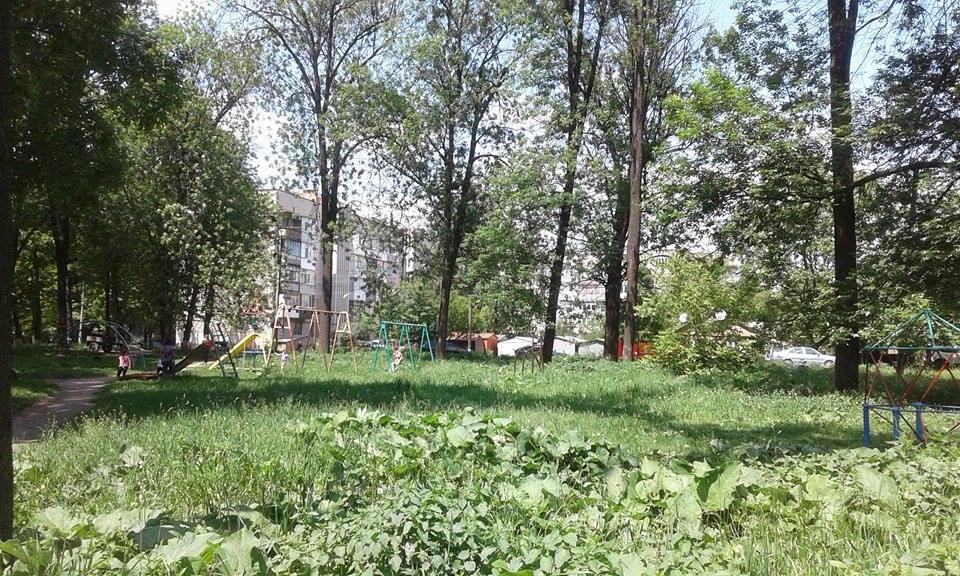 """Кілька десятків вінничан виступили проти будівництва церкви в парку """"Хімік"""" - фото 2"""