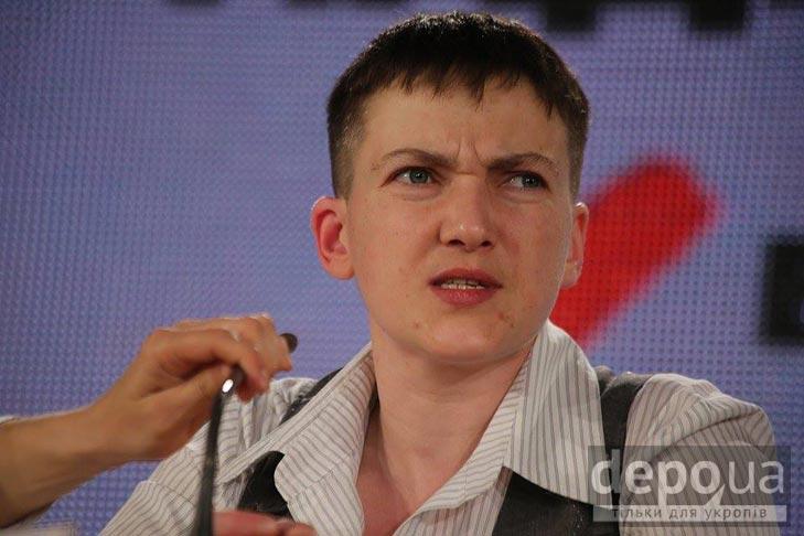 Прес-конференція Надії Савченко (ФОТОРЕПОРТАЖ) - фото 5