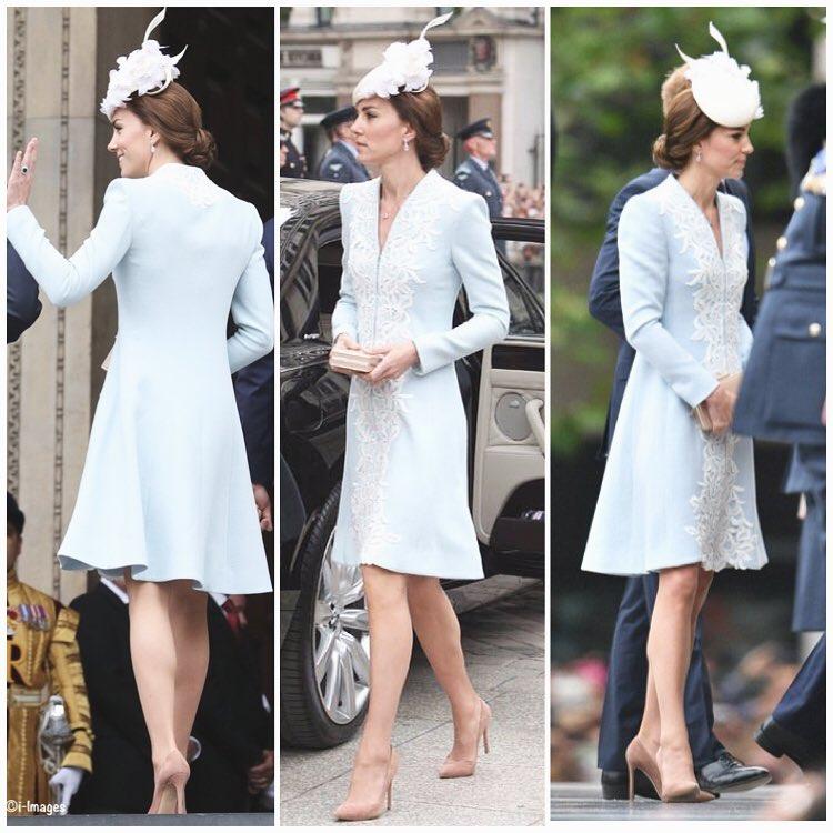 Кейт Мідлтон заявилася у церкву в капелюшці з ріжками - фото 1