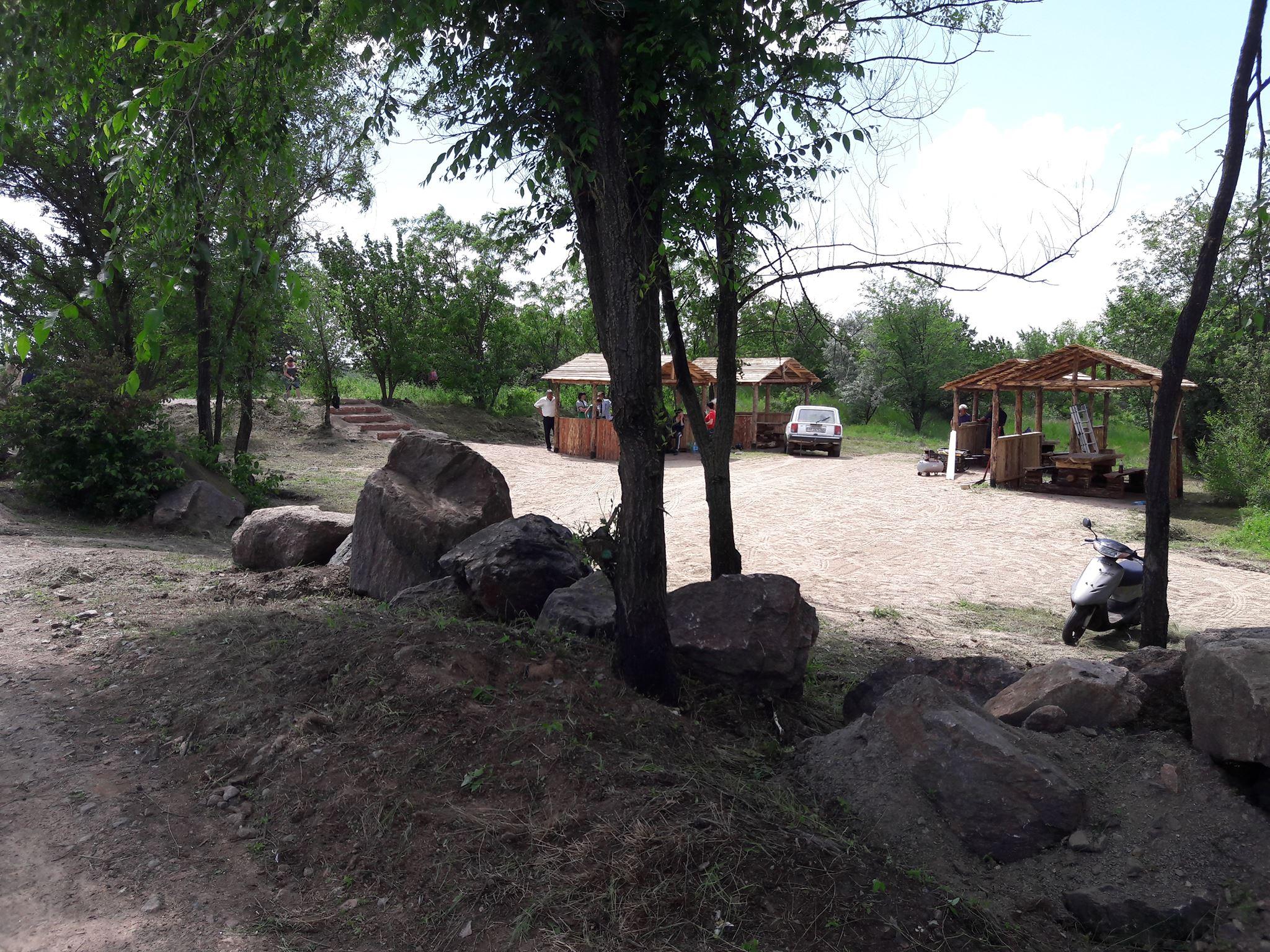 На Миколаївщині біля родонового озера збудували оглядовий майданчик - фото 4