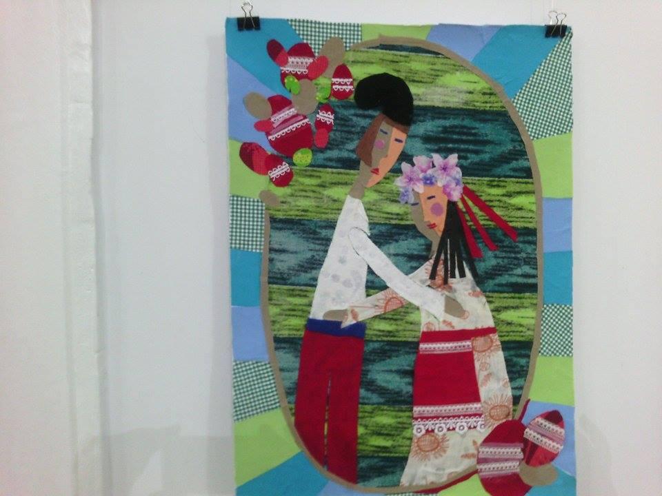 """Юні художники по текстилю показали, що для них """"Світ у клаптику"""" - фото 2"""