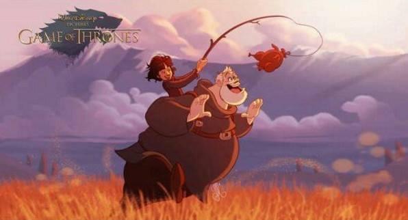 """Як виглядають персонажі з """"Гри престолів"""" у виконанні Діснея - фото 3"""