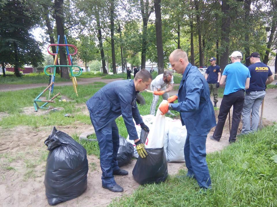 """Як вінничани рятують парк """"Хімік"""" - фото 3"""