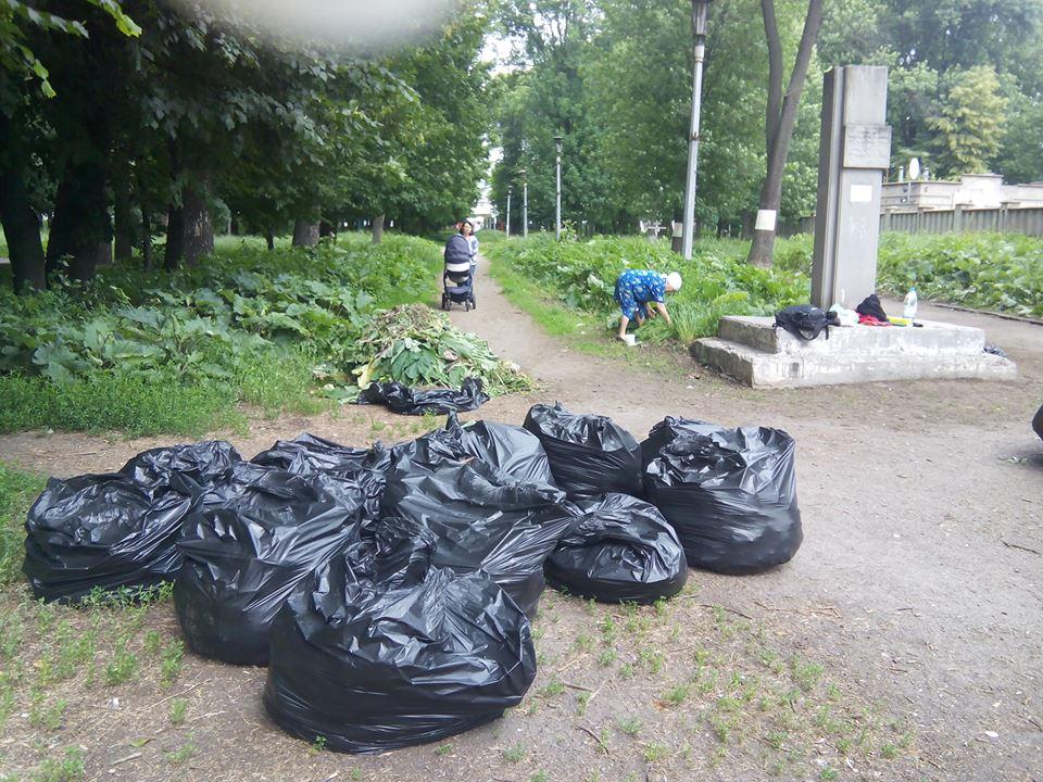 """Як вінничани рятують парк """"Хімік"""" - фото 2"""