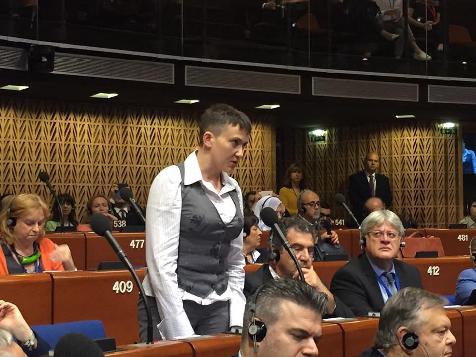 У ПАРЄ зустріли Савченко гучними оваціями - фото 2