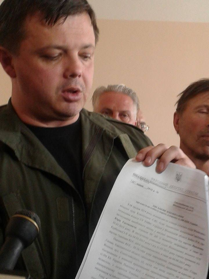 Вінницький суд не дав Хорта на поруки нардепу Семенченку - фото 1