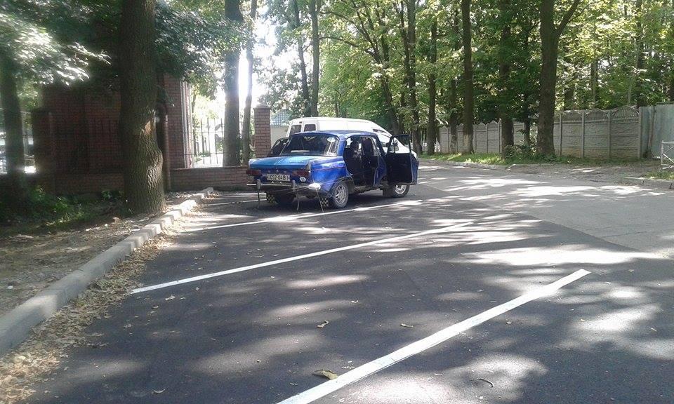 Як виглядають дві новенькі вінницькі парковки - фото 3