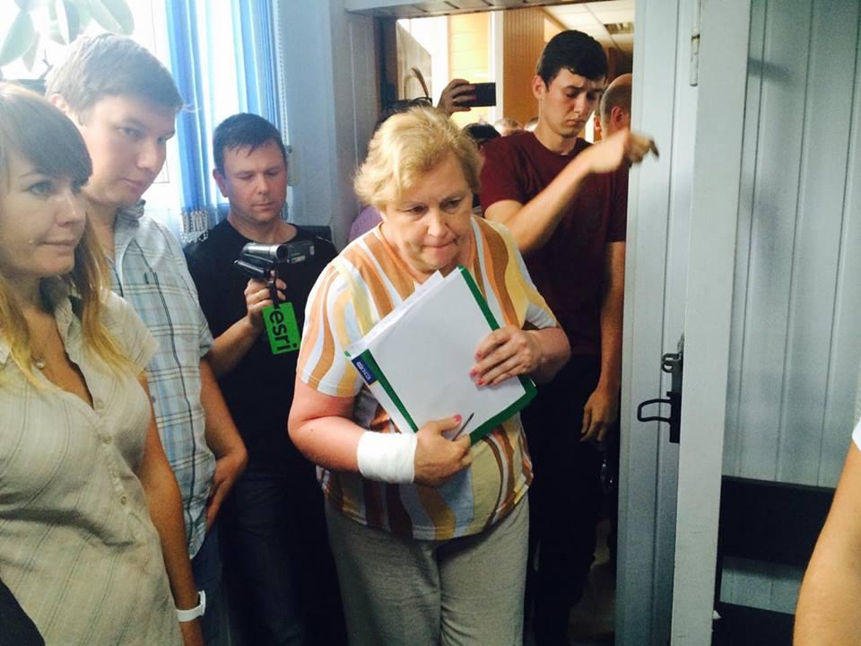 Суд арестовал подозреваемую всепаратизме главную коммунистку Харькова Александровскую