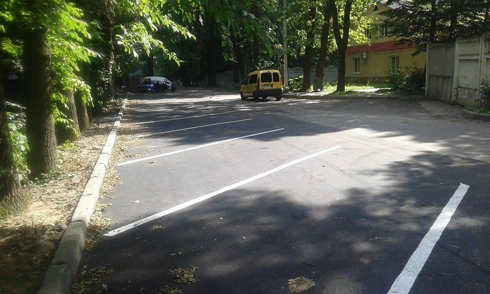 Як виглядають дві новенькі вінницькі парковки - фото 2