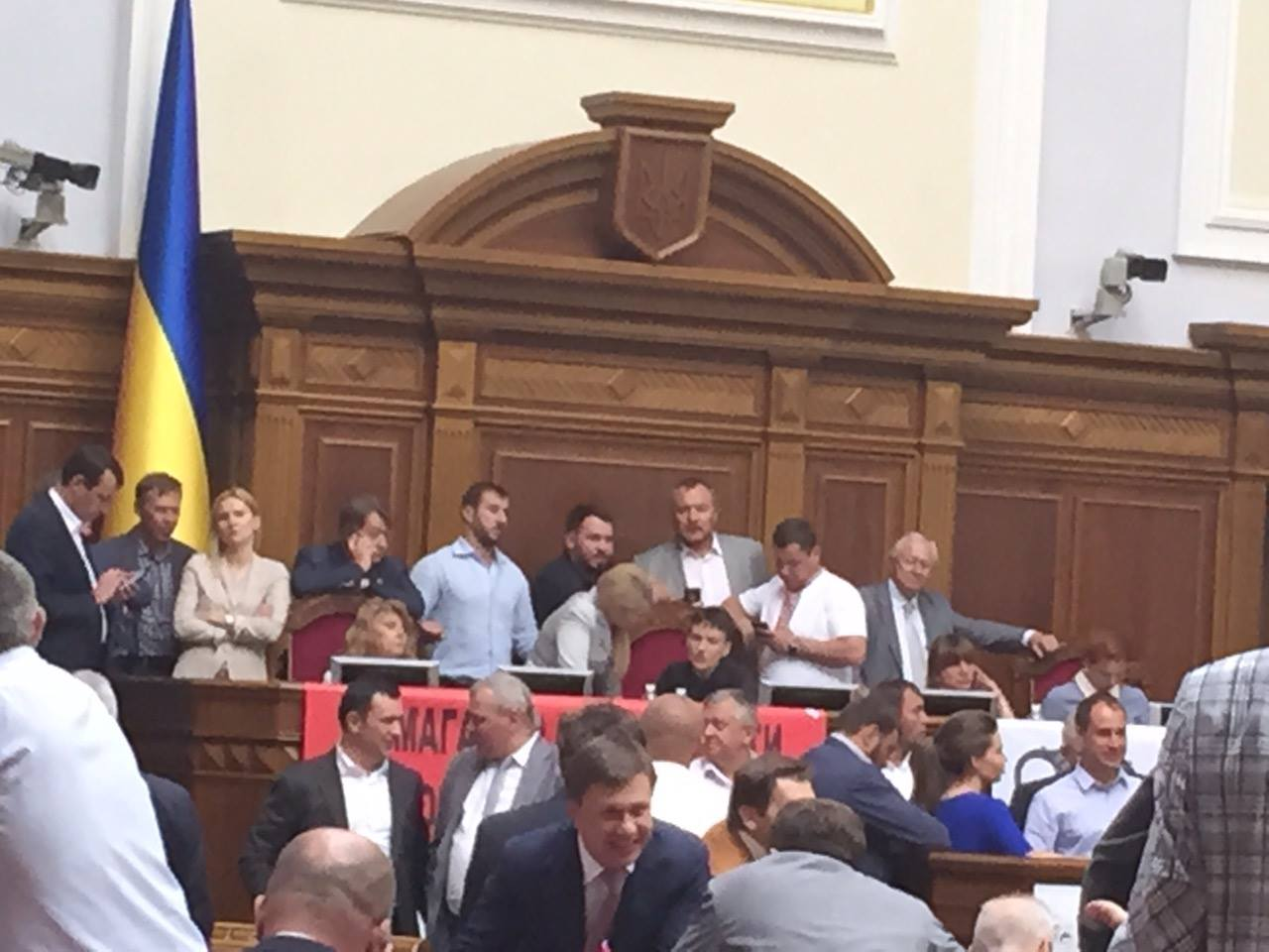 Як Тимошенко вмовляє Савченко поступитися кріслом Парубія - фото 1