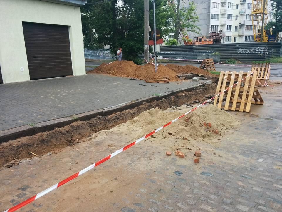 Скадальну забудову на газопроводі у центрі Миколаєва поновили